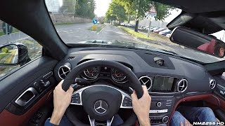 2016 Mercedes SL63 AMG POV Test Drive - Accelerations OnBoard & Engine Sound