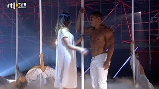 Vrije act Jeffrey - Show 3 - CELEBRITY POLE DANCING