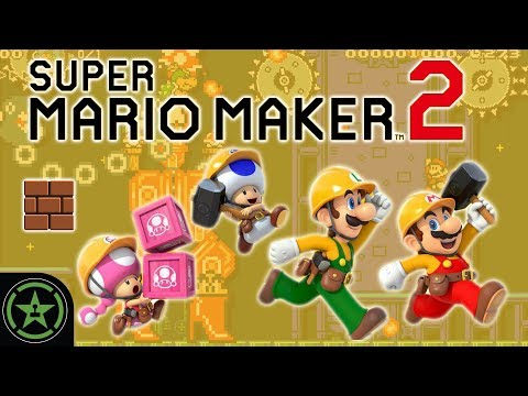 I NEED MY TOOLS - Super Mario Maker 2 (Story Mode) | Live Gameplay