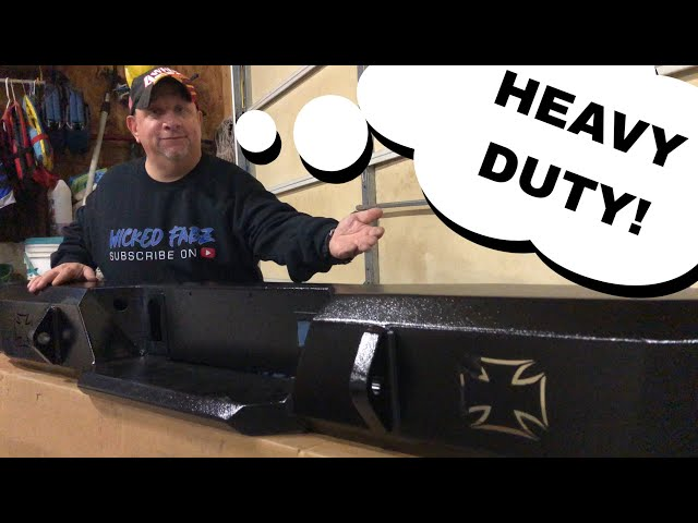 Iron Cross HD Rear Bumper | Unboxing and Review