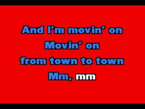 Bad Company  - Movin' On - Karaoke