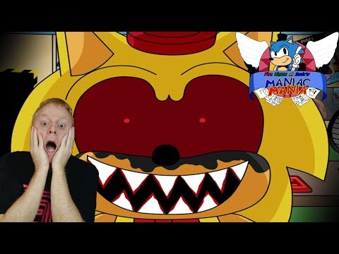 DON'T TOUCH MY NOSE!! | FIVE NIGHTS AT SONIC'S: MANIAC MANIA | MORE CHALLENGES & ACHIEVEMENTS | FNAS
