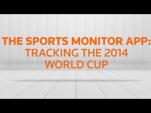 The Sports Monitor App - Tracking the 2014 World Cup