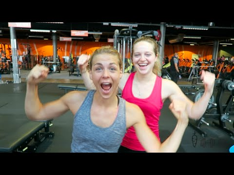 rug en biceps training - fit with marit - youtube