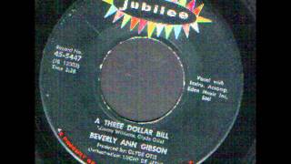Beverly Ann Gibson   A three Dollar Bill   sixties soul R&B