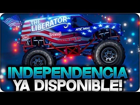GTA 5 ONLINE 1.25/1.27 - DÍA DE LA INDEPENDENCIA ¡DISPONIBLE! ENSEÑANDO TODO DEL DLC - GTA V 1.25