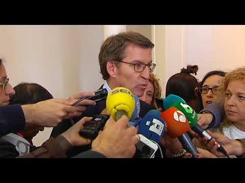 """Feijóo habla sobre su futuro: """"Hay que escuchar a Rajoy"""""""
