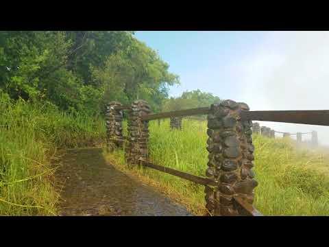 Walking Victoria Falls on Zambia Side