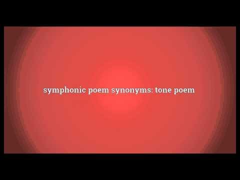 Symphonic poem Meaning