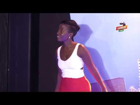 Alex Muhangi Comedy Store Feb 2019 - Lydia Jazmine