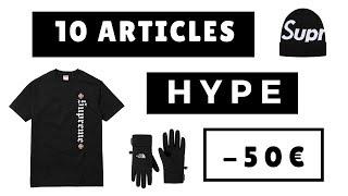 10 ARTICLES HYPE A MOINS DE 50€ #2 | SOStyle