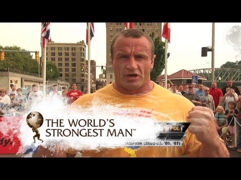 2008 Fingals Fingers: Pudzianowski v Pfister | World's Strongest Man
