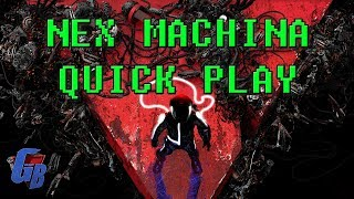 Nex Machina: Death Machine 4K Quick Play