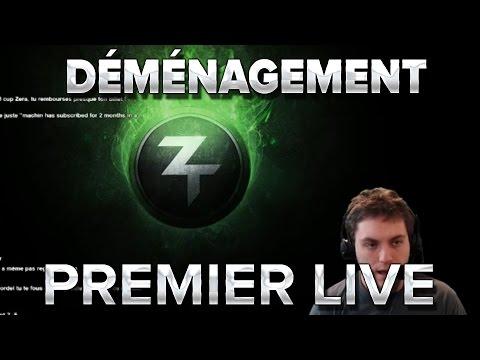 Déménagement : Premier Live de France !