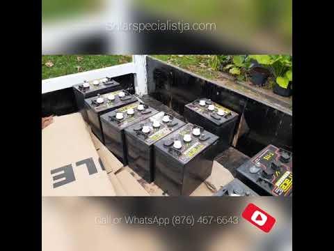 Top 3 Solar lead acid batteries in Jamaica