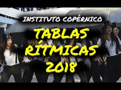 Tablas Rítmicas 2018 (Instituto Copérnico)
