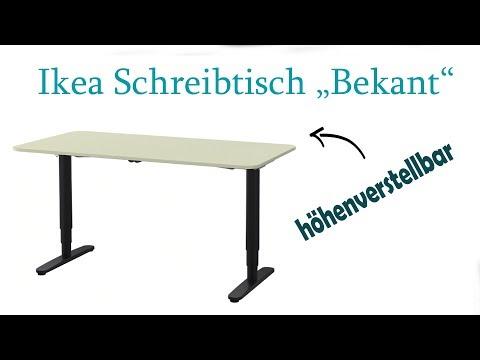 Elektrischer Schreibtisch Ikea Bekant Im Test Youtube