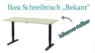 Elektrischer Schreibtisch | Ikea Bekant im Test