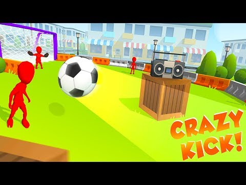 Crazy Kick - Android/iOS Gameplay (BY Voodoo)