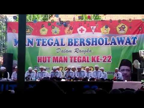 Az Zahir Live MAN TEGAL BERSHOLAWAT