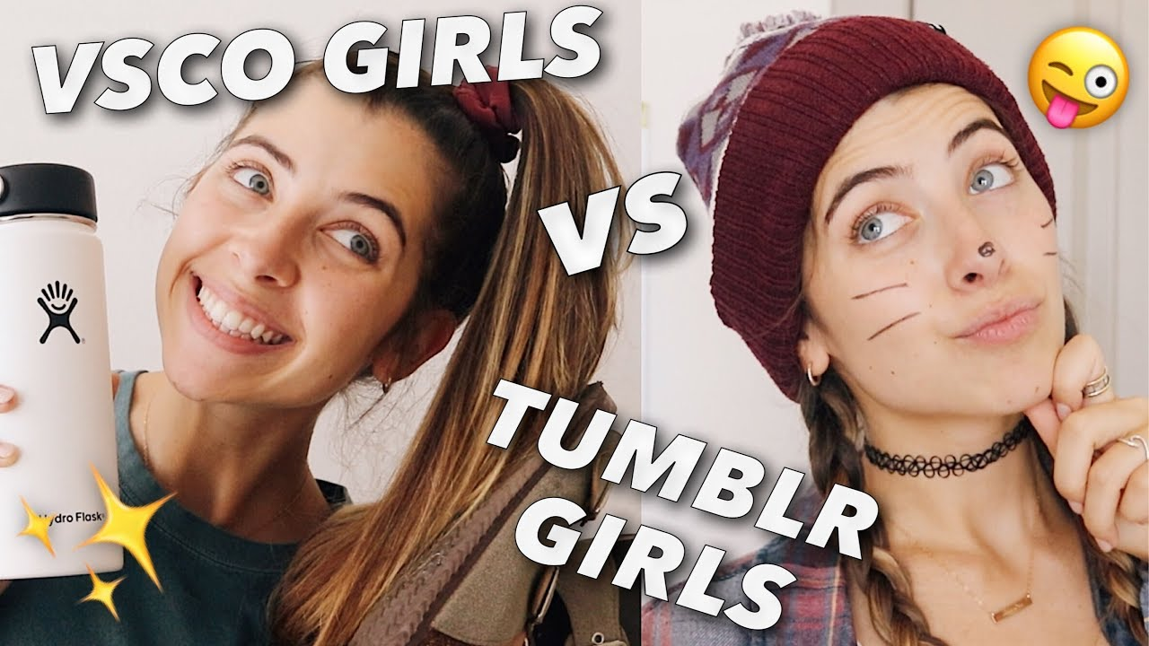 [VIDEO] - VSCO GIRLS vs TUMBLR GIRLS 9