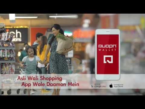 Quopn Online Grocery Wallet TVC
