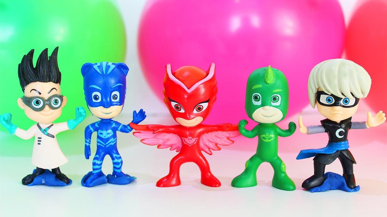 Мультик про игрушки герои в масках