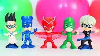 ГЕРОИ В МАСКАХ Мультик для детей на русском Развивающие мультики Учим Цвета Игрушки Герои в масках