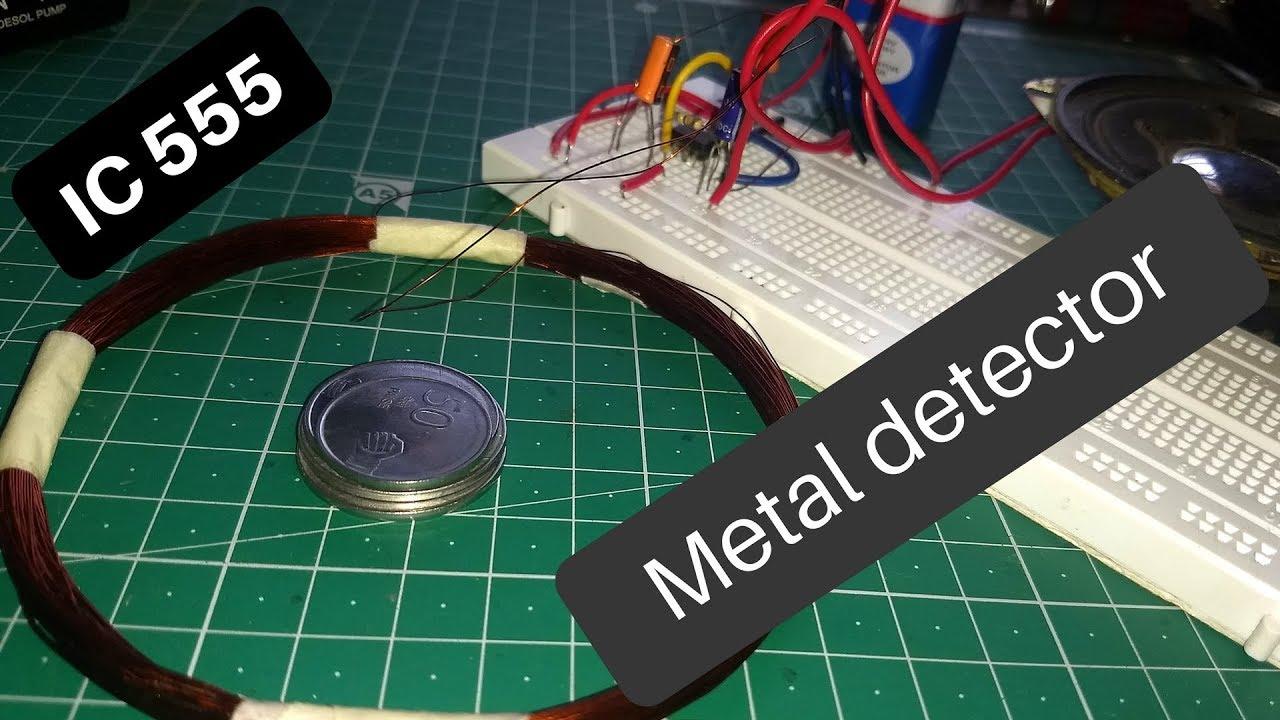 Metal Detector Diy Circuit