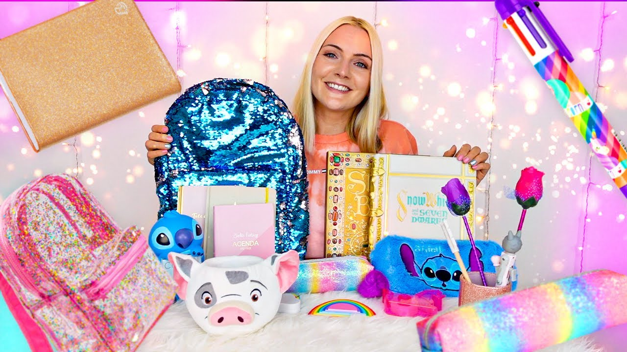 Fournitures Scolaires Girly & Back to school 2021 | Sophie Fantasy