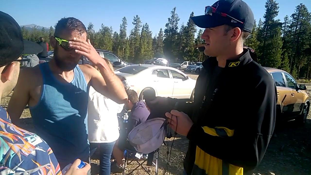 2017 leadville trail 100 run - justin ernst