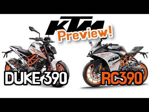 KTM Duke and RC Preview