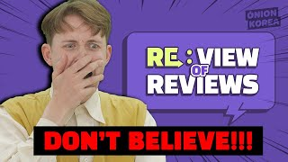 ▶DON'T BELIEVE!◀ NETFLIX's Street Food Gwangjang Market Review || RE:VIEW OF REVIEWS