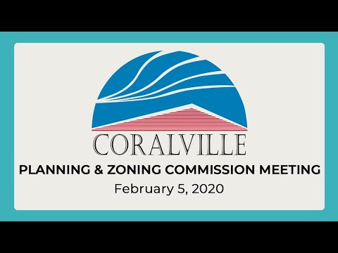 Coralville Planning & Zoning Commission Meeting (Feb. 5, 2020)
