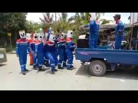 Party Jalanan DJ MarshMello-Sembari Tengkurep Club Bunyu Island