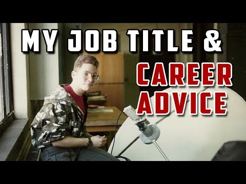 """#023: My Job Title, Career Advise, & our first """"Ride Along""""!"""