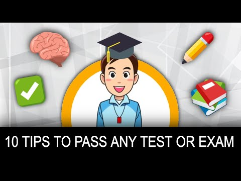 How to pass any test or exam! 10 science-backed tips from a teacher
