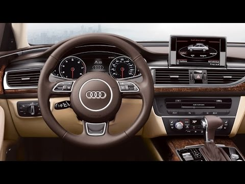 Audi - 2015 Audi A6 Interior - YouTube