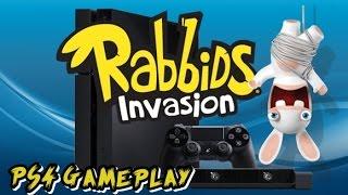 rabbids Invasions PS4 Gameplay