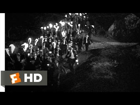 Frankenstein (7/8) Movie CLIP - The Torch-Wielding Mob (1931) HD