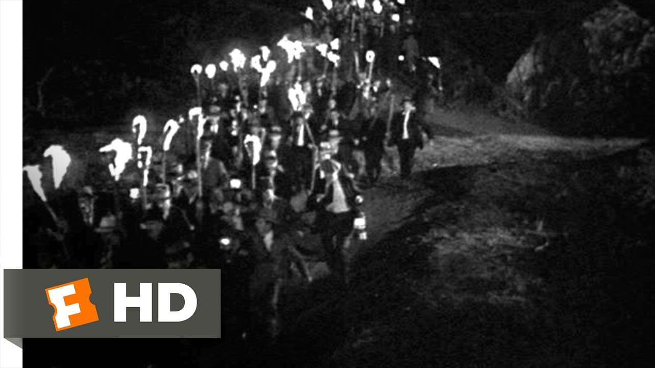 Frankenstein (7/8) Movie CLIP - The Torch-Wielding Mob (1931) HD ...