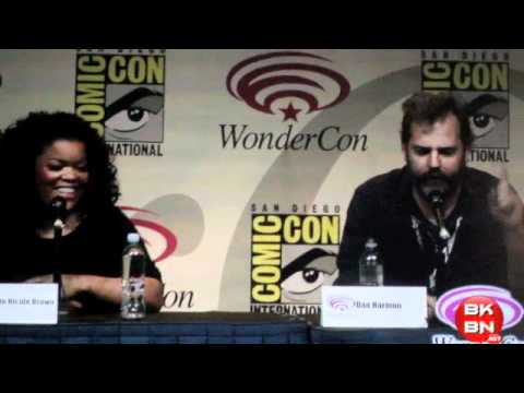 Community TV Show WonderCon 2012 Panel With Gillian Jacobs, Ken Jeong & Yvette Nicole Brown