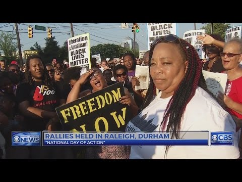 'Black Lives Matter' protesters block downtown Durham streets