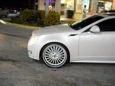 2011 Cadillac Cts Coupe On 22 Quot Asantis Slidin Youtube