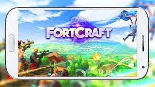 FORTNITE FOR MOBILE by Netease | FORTCRAFT FIRST GAMEPLAY (iOS / Android)
