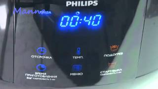 Молочная ячневая каша в мультиварке Philips HD3060
