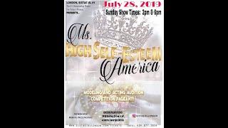 MS. HIGH SELF-ESTEEM AMERICA Model Competition Pageant - Film Trailer #1
