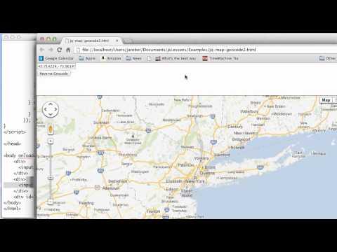 JS 4U 241: Reverse Geocoding