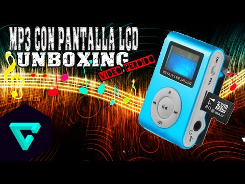 Mp3 Player Con Pantalla Lcd | Unboxing | Video Perdido | #KennyElKing