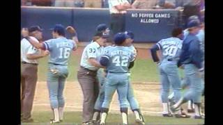 1983 Pine Tar game highlights - July 24 & August 18 - Royals vs. Yankees